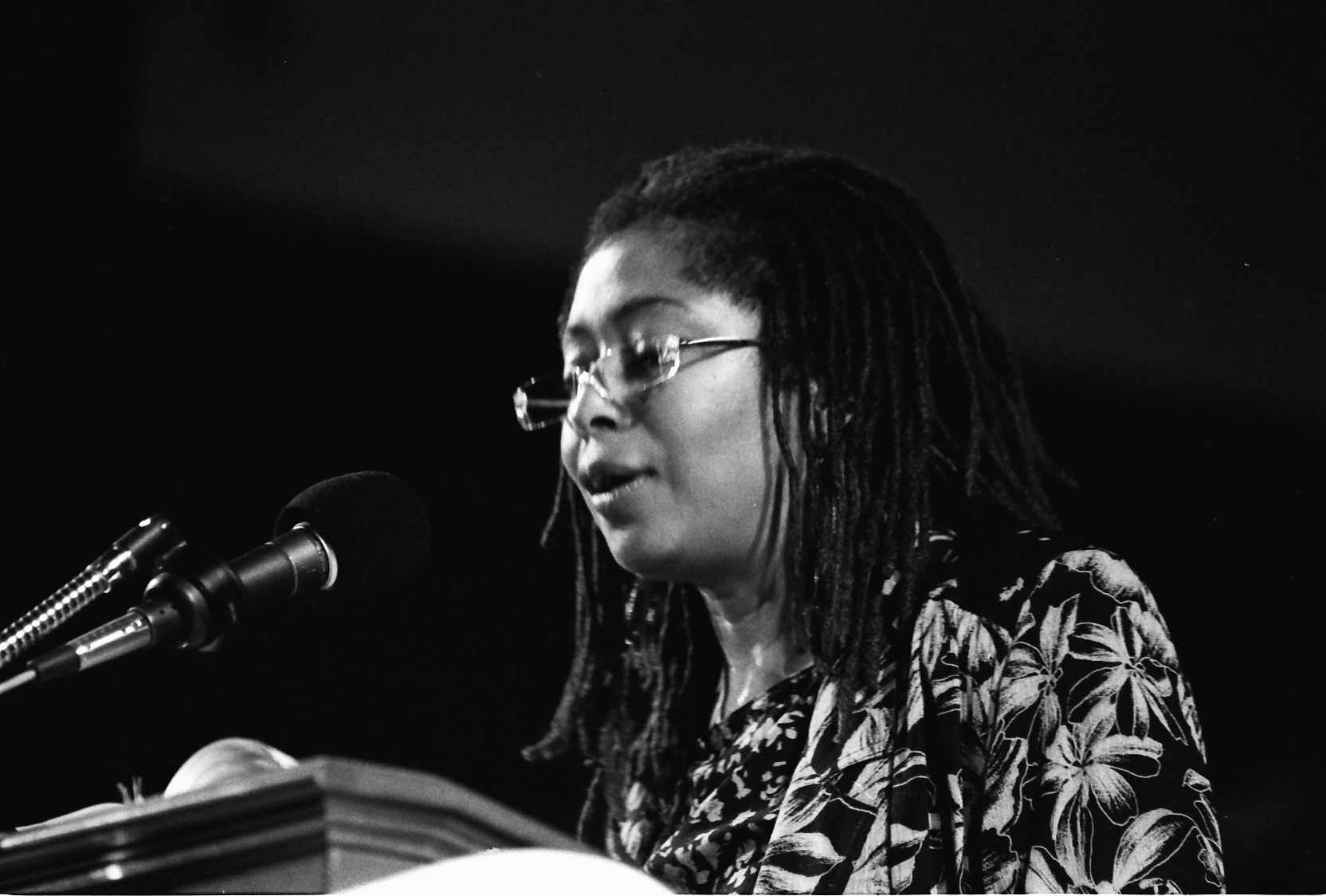 Alice Walker, Miami Bookfair International, 1989