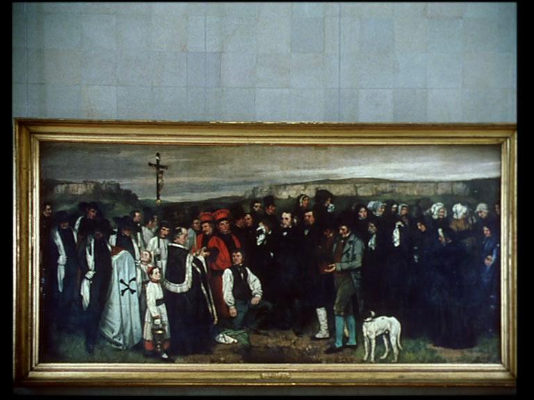 Danièle Huillet - una visita al Louvre